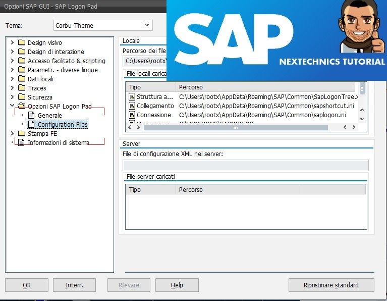 SAP GUI Tutorial